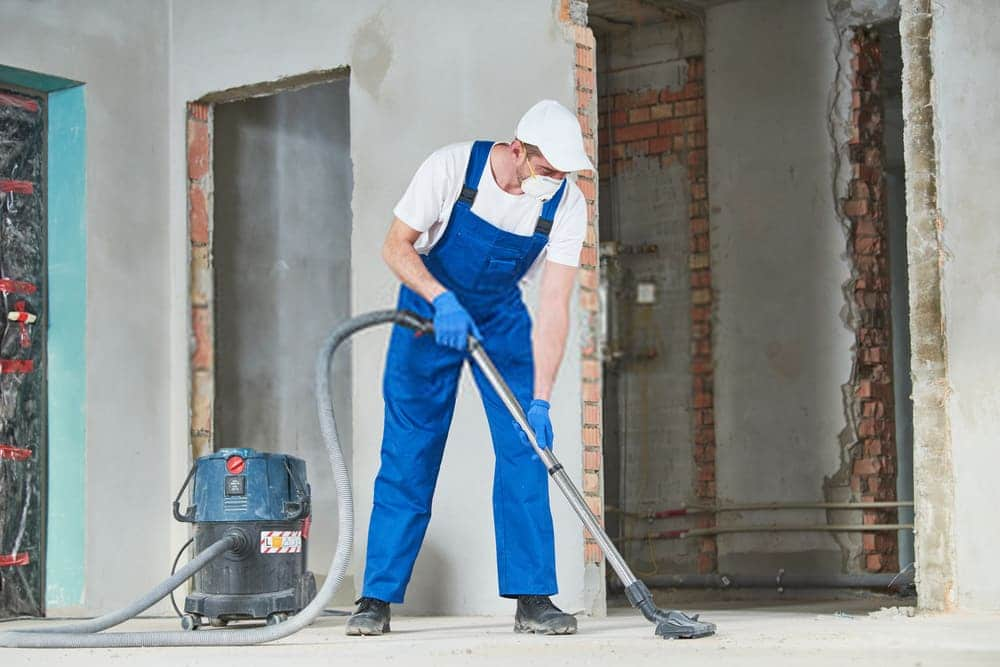 First Up Cleaning Services Technician Construction Cleaning