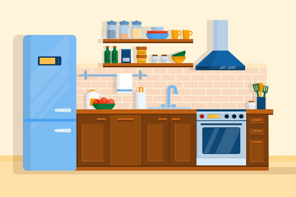 First Up Cleaning Services Kitchen Interior 1